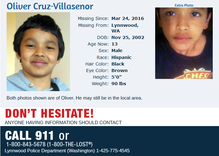 Have you seen this child- OLIVER CRUZ-VILLASENOR 2016-04-26 11-27-40