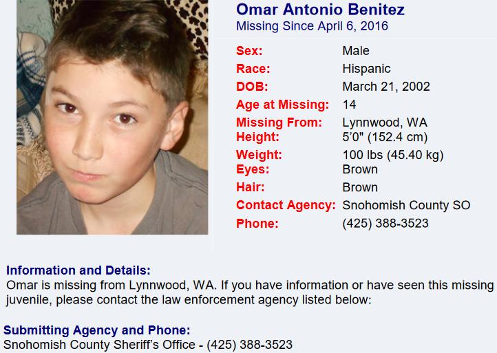 Missing Children Clearinghouse Poster - Benitez_Omar.pdf 2016-04-26 11-28-24