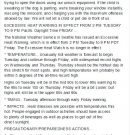 Please Be Prepared For The Upcoming Heatwave